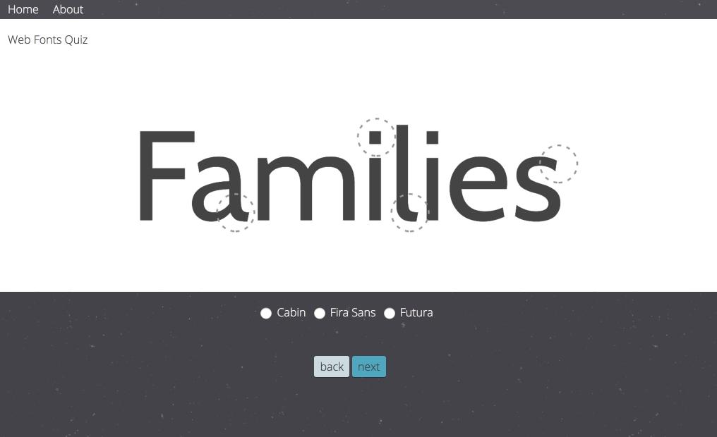 Typeface Quiz